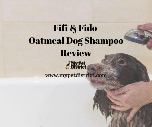 fifi and fido oatmeal dog shampoo review