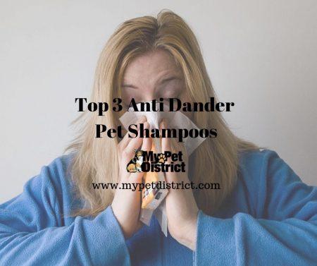 anti dander pet shampoo