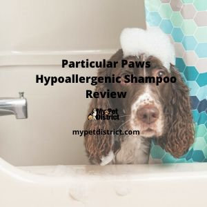 Particular Paws Hypoallergenic shampoo review