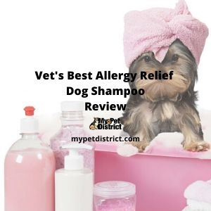vet's best allergy itch relief shampoo
