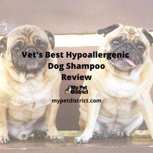 Vet's Best hypoallergenic dog shampoo