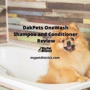 dakpets onewash shampoo and conditioner
